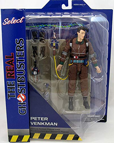DIAMOND SELECT TOYS The Real Ghostbusters: Peter Select Action Figure
