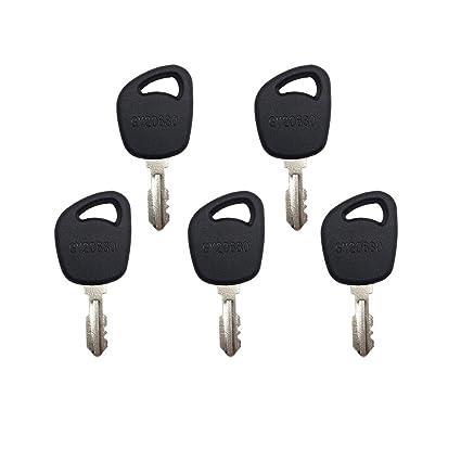 Amazon.com: 5 piezas llave de encendido GY20680 GX24332 para ...