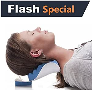 Amazon Com Chiropractic Pillow Cervical Neck Pillow To