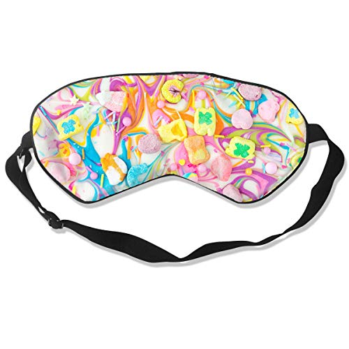 Oh-HiH 100% Silk Eye Mask Charms Chocolate Sleeping