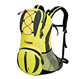 OrrinSports Polyester Waterproof Durable Packable Handy Lightweight Travel Backpack & Daypacks 30L-Light Yellow
