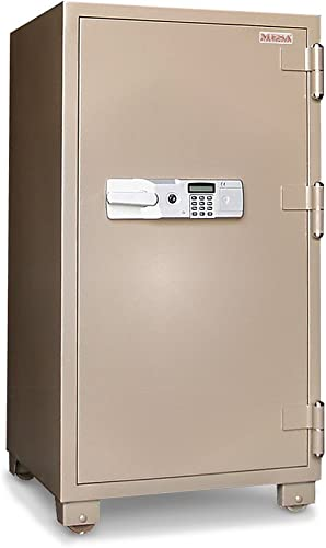Mesa Safe MFS100 2 Hour Fire Rated Office Safe, Steel, 3.6 cubic feet Interior Space