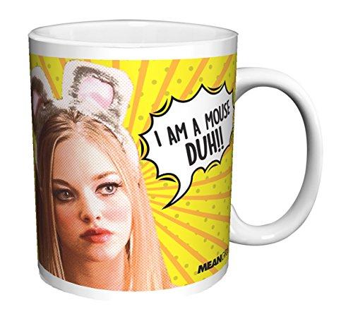 Mean Girls Karen Mouse Duh Teen Comedy Movie Film Ceramic Gift Coffee (Tea, Cocoa) (11 OZ C HANDLE CERAMIC MUG)