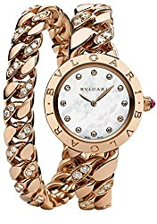 Double Row Diamond Bracelet Watch
