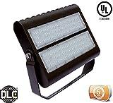 DLC-Listed LED 150 Watt Exterior Security Area Light, 4000K Neutral White, 120V-277V, Comparable to 250-400W MH-HPS, 15100 Lumens, Bracket Mount, UL-Listed, LEDrock Warranty Based in Denver, CO, USA
