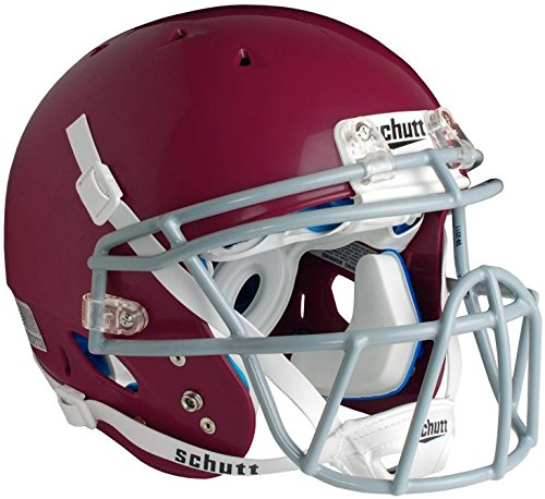 Schutt Sports DNA Pro+ Varsity Football Helmet, Maroon, Large