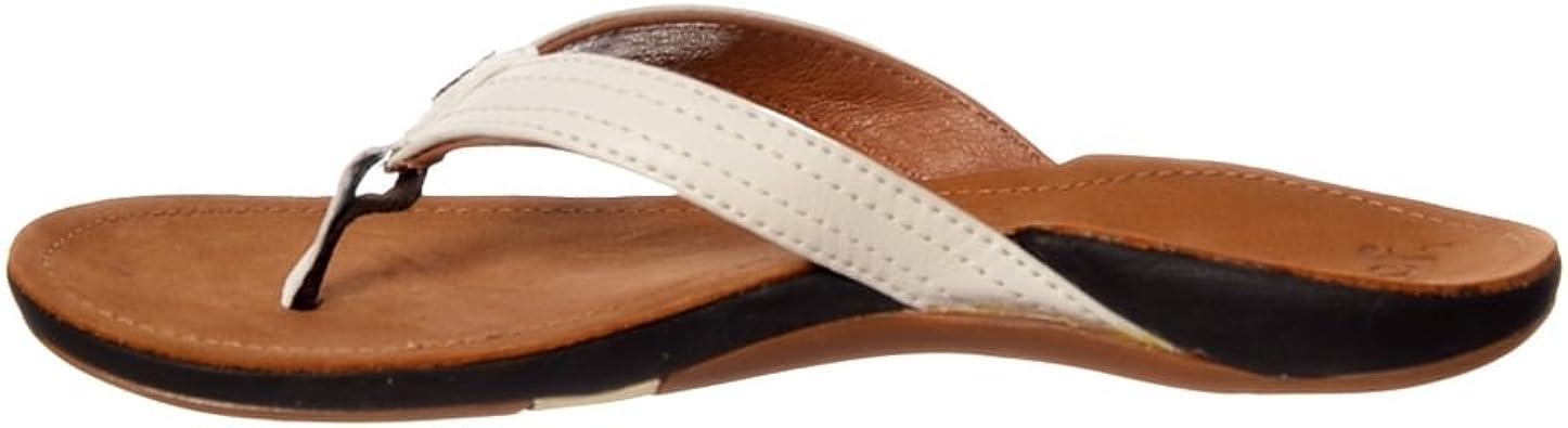 Reef Miss J-Bay Tan/White Ladies Sandals
