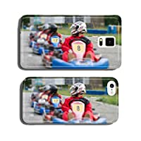 race go-kart blur effect cell phone cover case Samsung S5