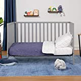 Union 3-in-1 Convertible Crib in Grey, Greenguard