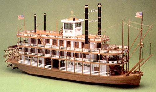 Mississippi Kit Model (Mississippi - Premium model ship kit by Mantua Sergal)
