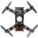 Dreamyth Super Awesome Eachine Racer 250 FPV Quadcopter Built-In 5.8g Transmitter, OSD, FPV Monitor BNF (Black)