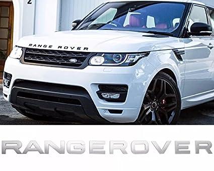 Incognito 7 3d Laxury Range Rover Letters Range Rover Logo Range