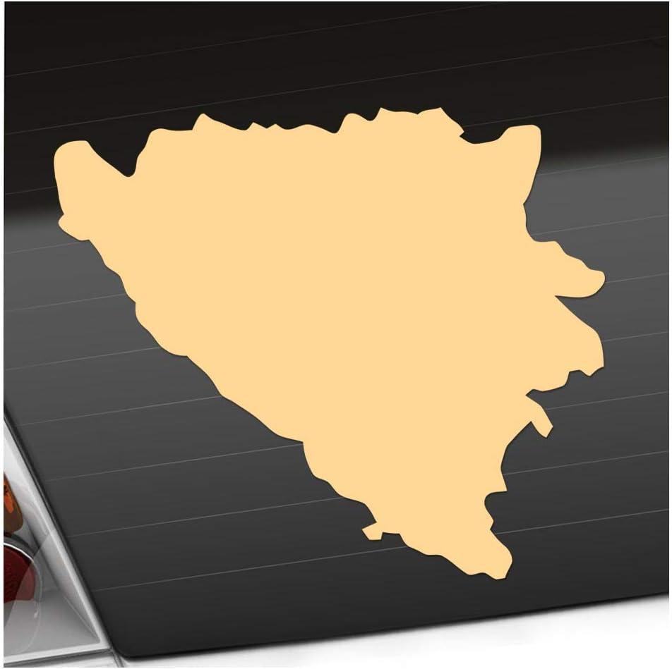 Adesivo per Bosnia-Erzegovina Kiwistar 25 Colori fosforescenti opachi
