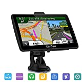 GPS Navigation for car, 7 inch Touch Screen 8GB Voice Prompt GPS Navigation System Built-in Lifetime Maps,Advanced Lane Guidance and Spoken Turn-by-Turn Directions,Free Lifetime Map Updates