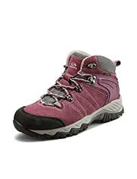 Women's Outdoor Suede Leather Waterproof Hiking Boots Qianling Collection?