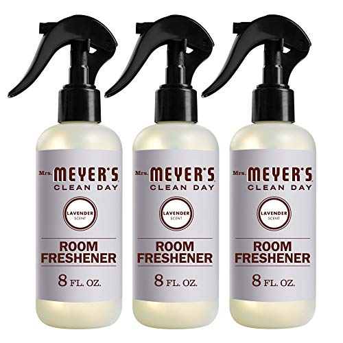 Mrs. Meyer's Clean Day Room Freshener Spray, Instantly Freshens the Air with Lavender Scent, 8 oz- Pack of 3