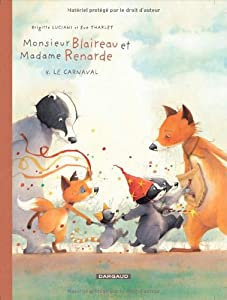 "Afficher ""Monsieur Blaireau et Madame Renarde n° 5<br /> Le carnaval"""