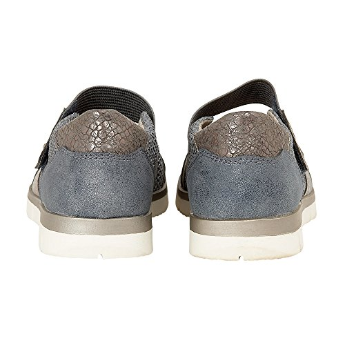 Relife Blue Ladies' Blue Harpulla Trainers Lotus Velcro Jeans gwCOxTTq
