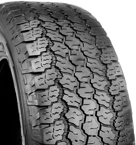 Goodyear WRANGLER ALL-TERRAIN ADVENTURE All-Terrain Radial Tire - 255/65-17 110T, One Tire Only 758069572
