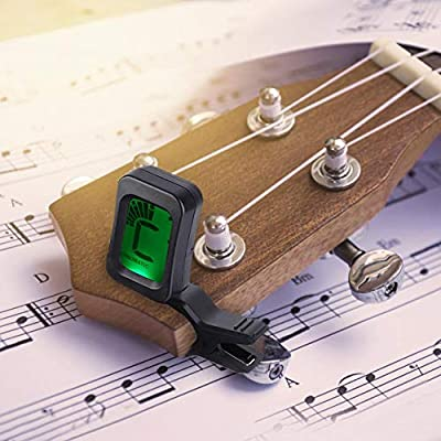 Bnineteenteam Afinador para Guitarra, bajo, Ukelele, violín, Viola ...