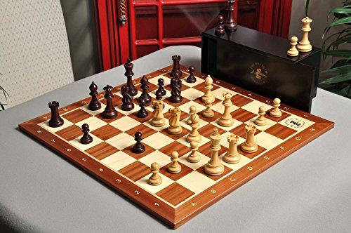 The Gilded Grandmaster Chess Set, Box, & Board Combination - 4.0