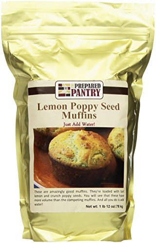 The Prepared Pantry Lemon Poppy Seed Muffin Mix, 28 Ounce by The Prepared Pantry