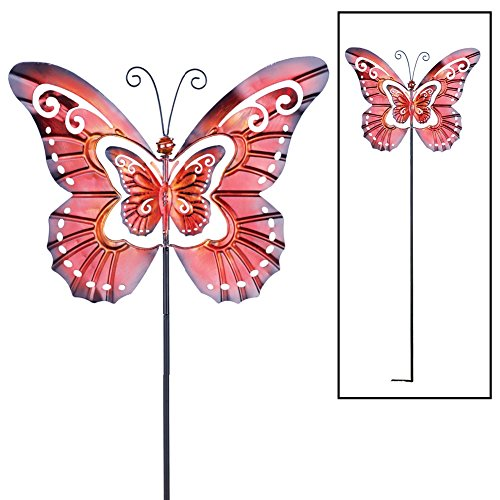 Spinning Butterfly Garden Decor Stake