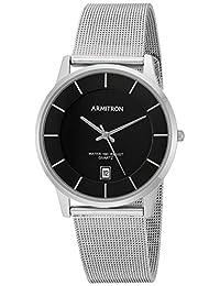 Armitron 205123BKSV Reloj de Diseñador para Hombre