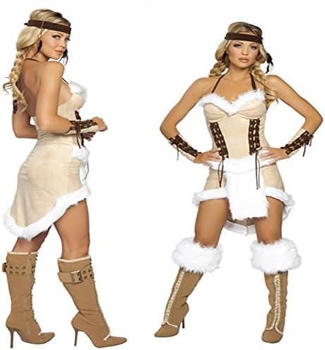 JX & JX 8 Anual de Halloween Masquerade Ropa Disfraces de indio ...