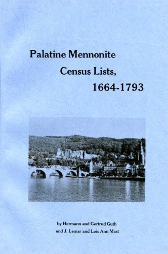Palatine Mennonite Census Lists, 1664-1793