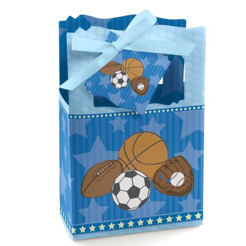 All Star Sports Toy Box - All Star Sports - Baby Shower or Birthday Party Favor Boxes - Set of 12
