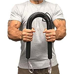 Core Prodigy Python Power Twister Chest, Bicep Blaster, Shoulder and Arm Builder Spring Exercise