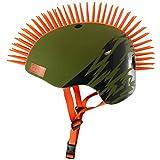 Krash! Green Slash Mohawk Youth 8+ Helmet