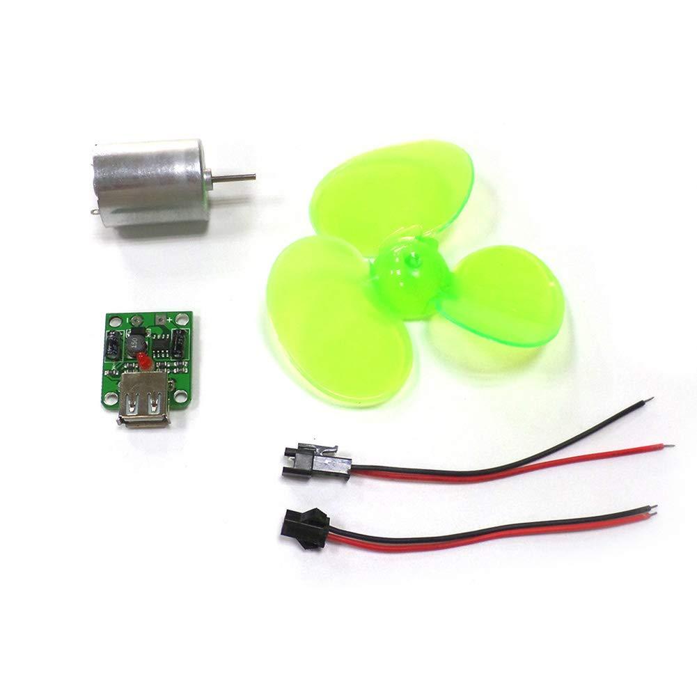 Soulitem- Juego de generador de energí a eó lica portá til para turbina, alternador de Motor, Cargador de telé fono de Emergencia Cargador de teléfono de Emergencia