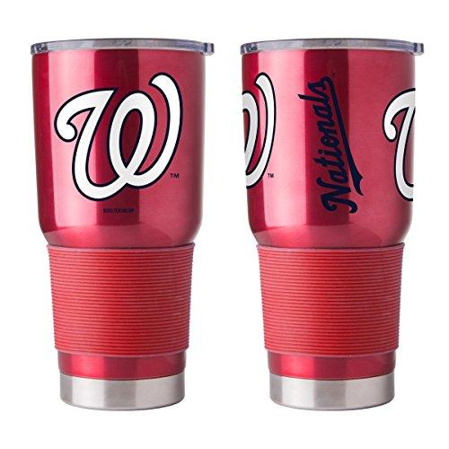 Nationals Washington Tumbler - Boelter MLB Washington Nationals 30 oz. Ultra Tumbler MLB Washington Nationals, Black, Small