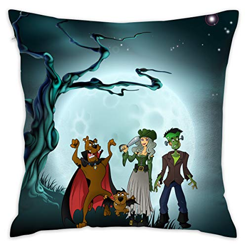 MyLoire Halloween Scooby-doo Pillow for Home Office Living Room Sofa 16