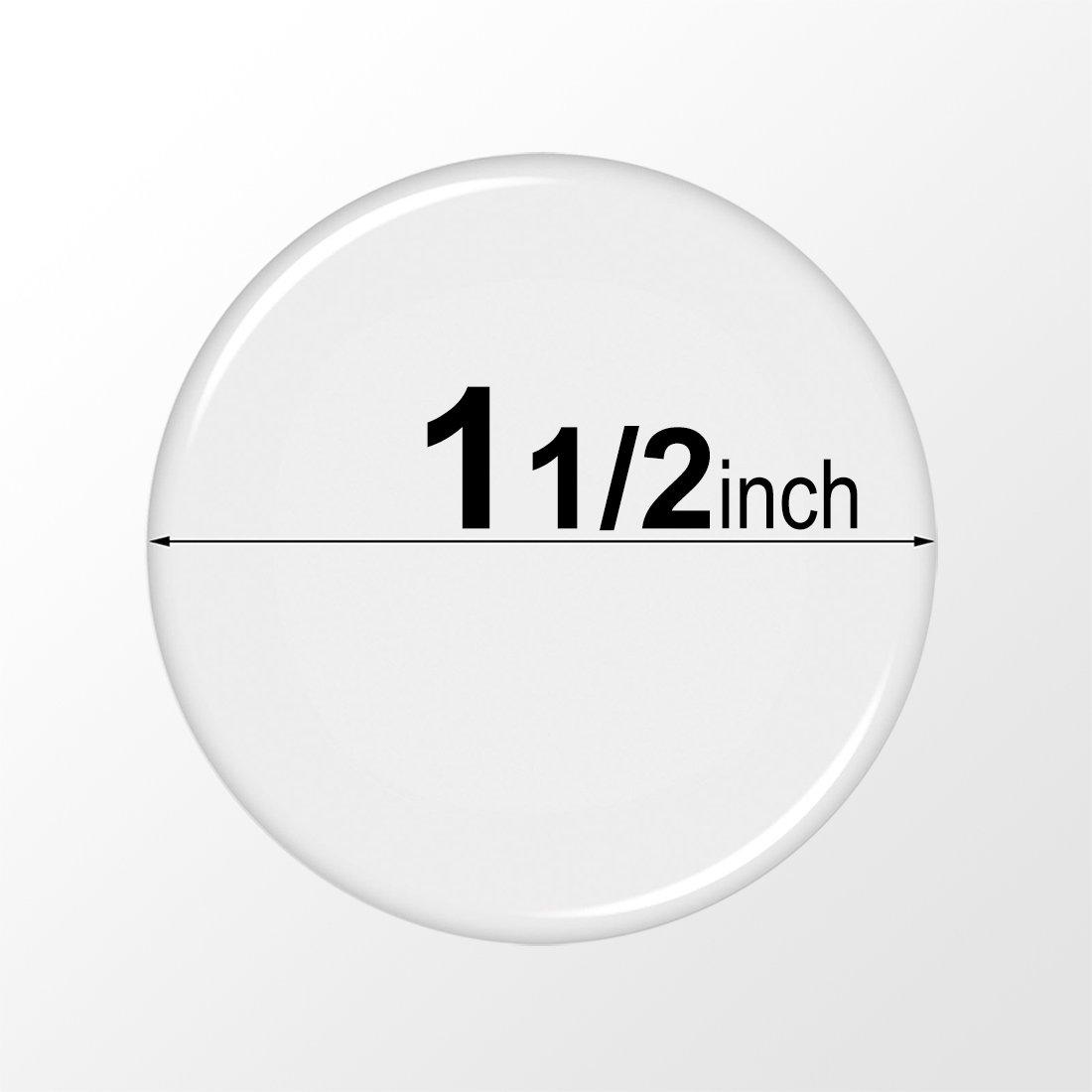 1000 Pcs. Dia: 1.5 inch - (38.1mm Clear Round Epoxy Stickers