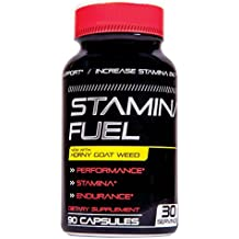 Stamina Fuel - Increase Stamina, Size, Energy, and Endurance and More with Muira Puama, Cayenne and Goat Weed Formula to Maximize physical Performance Endurance 90 Caps
