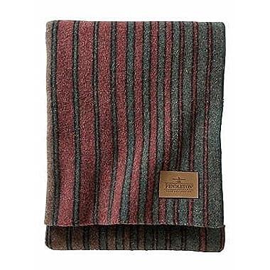 Pendleton Camp Blanket Hemrich Stripe Throw