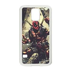Deadpool Samsung Galaxy S5 Cell Phone Case White yyfabc-413866