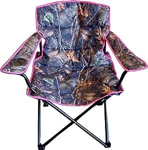 Amazon Com Wfs Folding Camp Chair Pink Camo Pink Camo
