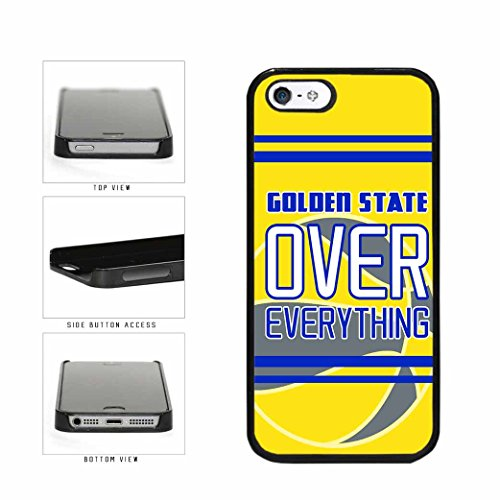 BleuReign Golden State Over Everything Plastic Phone Case Ba
