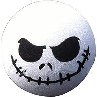 CherriGumi Value-for-Money 1 PC Halloween Skull Car Antenna Topper Aerial Ball Decoration Toy White(None WT)