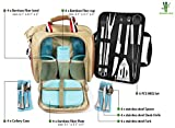 BAMBOO LAND Large Picnic/camping Bag for 4 person