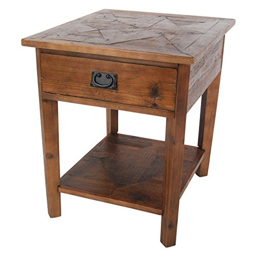 Alaterre Furniture Revive - Reclaimed End Table - Natural