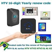 HTV 1 2 3 5 / A1 / A2 / IPTVKINGS /BRAZIL BOX / SUPER BRAZIL IPTV BRAZIL SUBSCRIPTION 16-digit Renew code with magic keys FREE 1 EXTRA MONTH