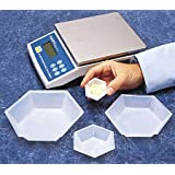 SEOH Plastic Hexagonal Weigh Boats Small Dish 500cs