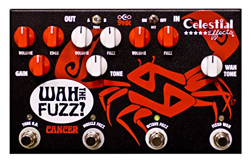 Celestial Effects CANCER WAH THE FUZZ? Guitar Effects - Pedals Boutique Fuzz