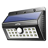 Three Sensor Modes:Litom 20LED Solar Lights Have Three Sensor Modes To Meet Your Needs        1.Strong Long Light Mode : when fade into darkness ,the solar light will keep strong and bright until itself dies.  2. Dim Light Senso...