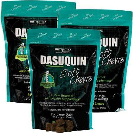 Dasuquin 3PACK Soft Chews for Large Dogs (252 Chews) by Dasuquin